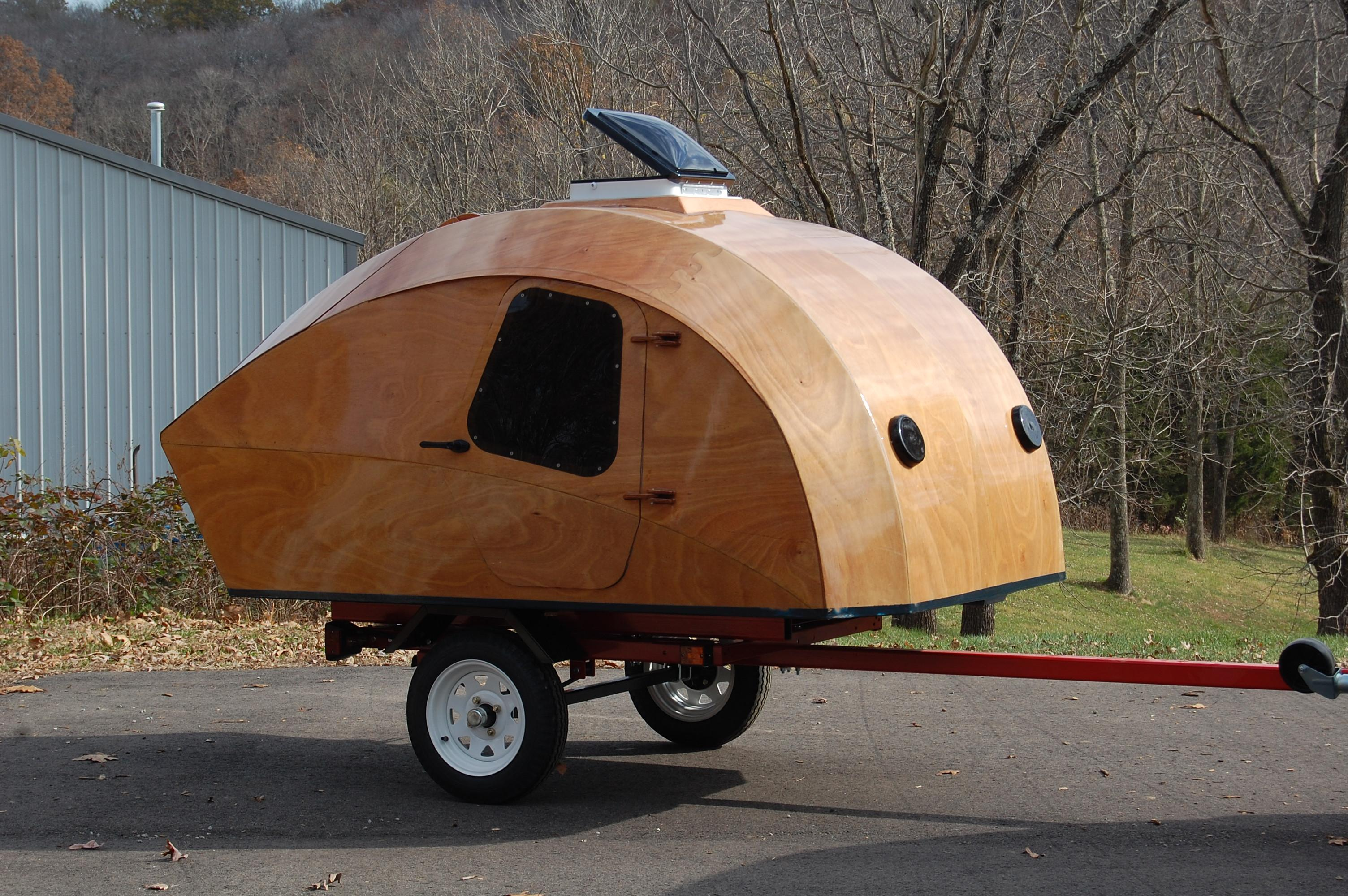 Teardrop Trailer Kit 8 Cubby : This is my effort at building a teardrop the clc