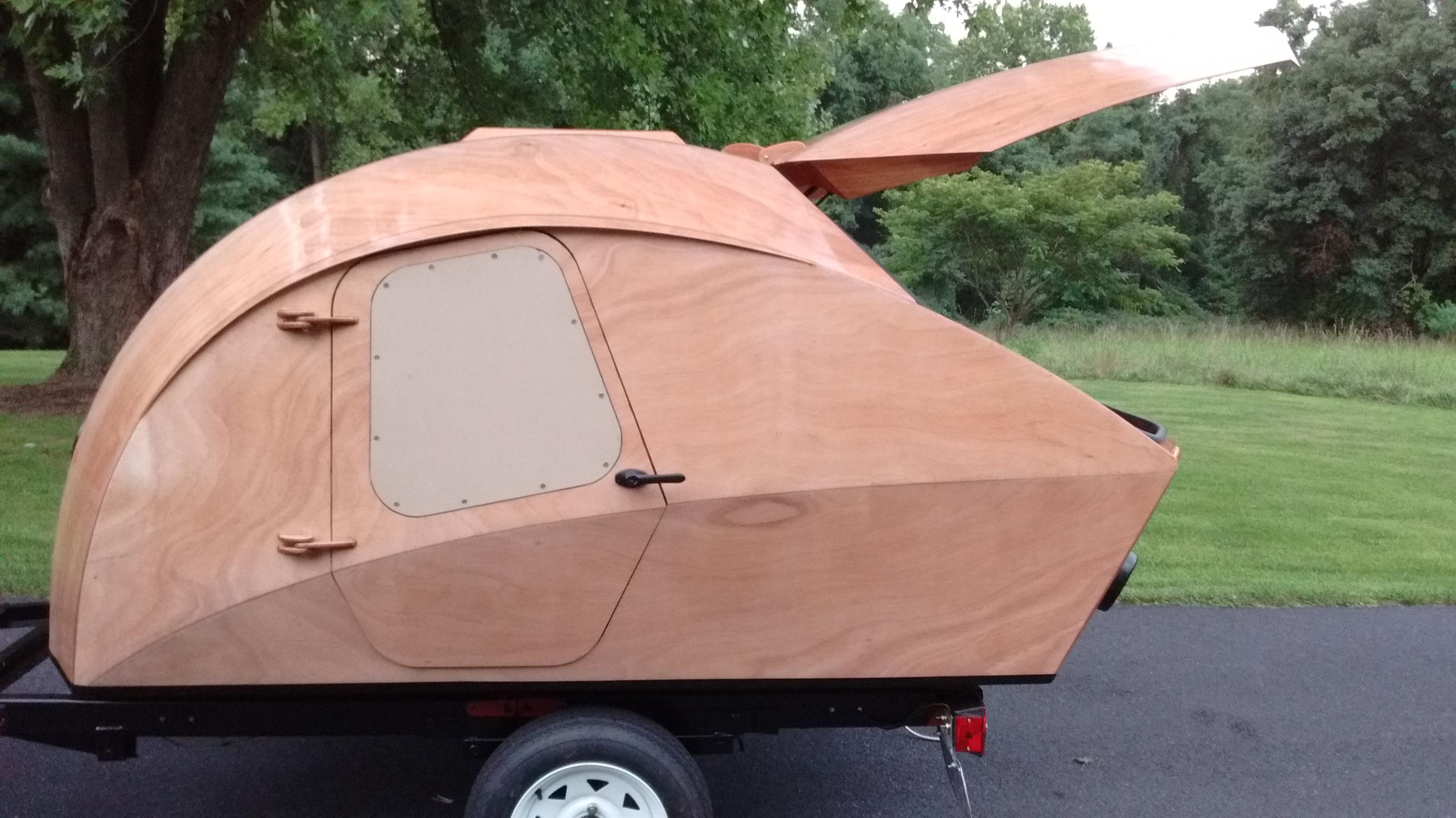 Stitch And Glue Teardrop Camper | Plywood Boat Plans